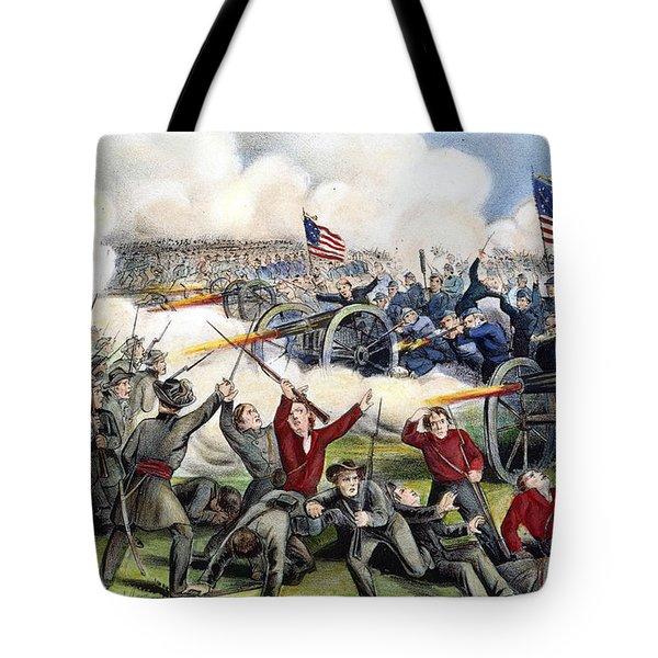 Civil War: Gettysburg, 1863 Tote Bag by Granger