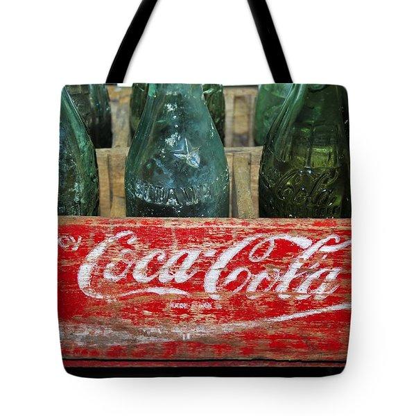 Classic Coke Tote Bag by David Lee Thompson