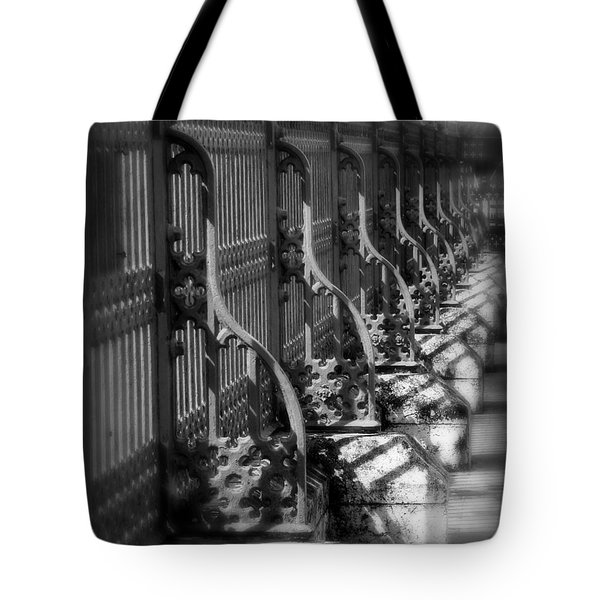 Classic Fence Tote Bag by Perry Webster