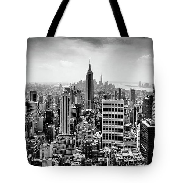Classic New York  Tote Bag by Az Jackson