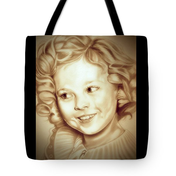 Classic Shirley Temple Tote Bag by Fred Larucci