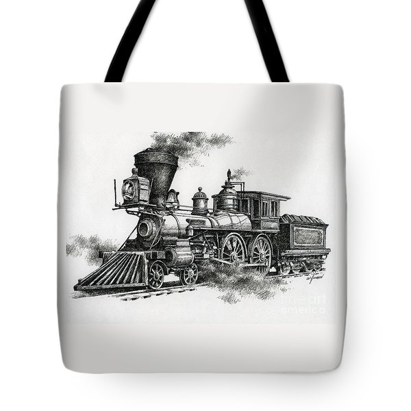 Classic Steam Tote Bag by James Williamson
