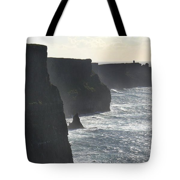 Cliffs of Moher 1 Tote Bag by Mike McGlothlen