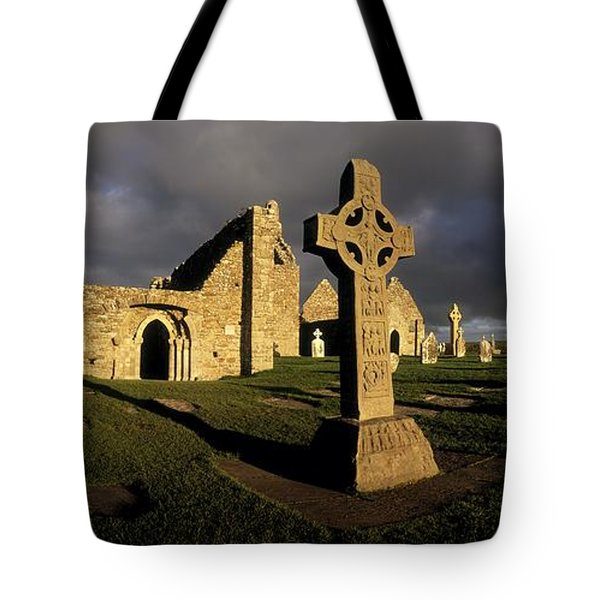 Clonmacnoise Monastery, Co Offaly Tote Bag by The Irish Image Collection