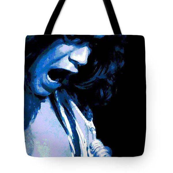 Close Up With Eddie Tote Bag by Ben Upham