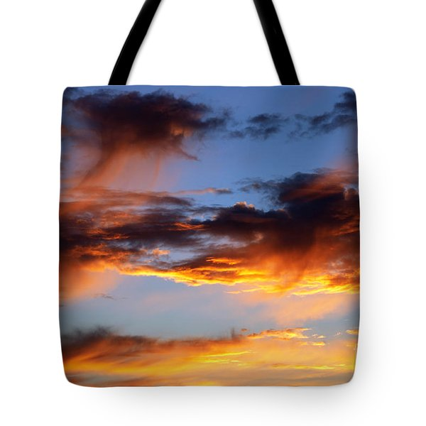 clouds Tote Bag by Michal Boubin