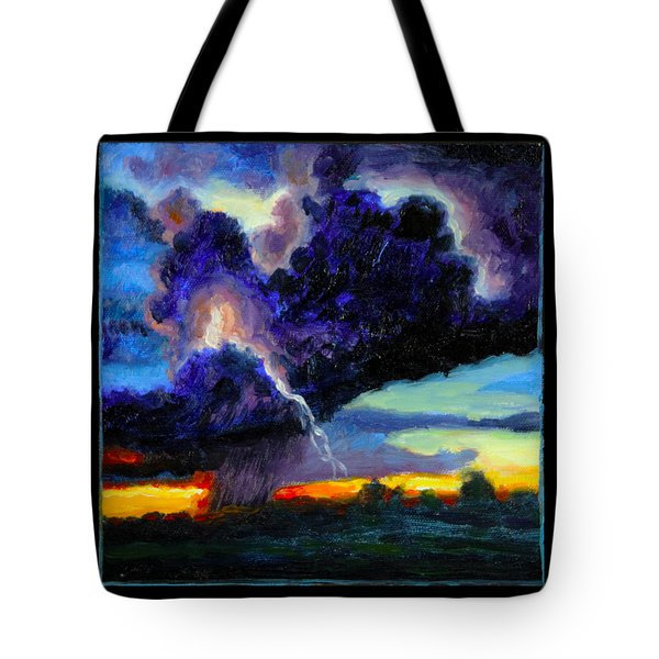 Clouds Number Six Tote Bag by John Lautermilch