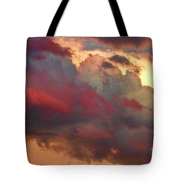 Cloudscape Sunset 46 Tote Bag by James BO  Insogna