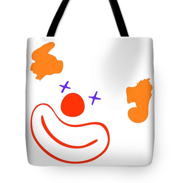 Clown Tote Bag by Michal Boubin