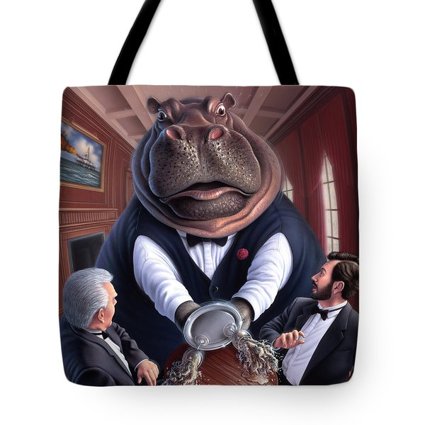 Clumsy Tote Bag by Jerry LoFaro