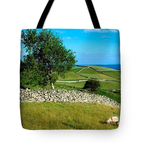 Co Galway, Connemara, Lough Corrib Tote Bag by The Irish Image Collection