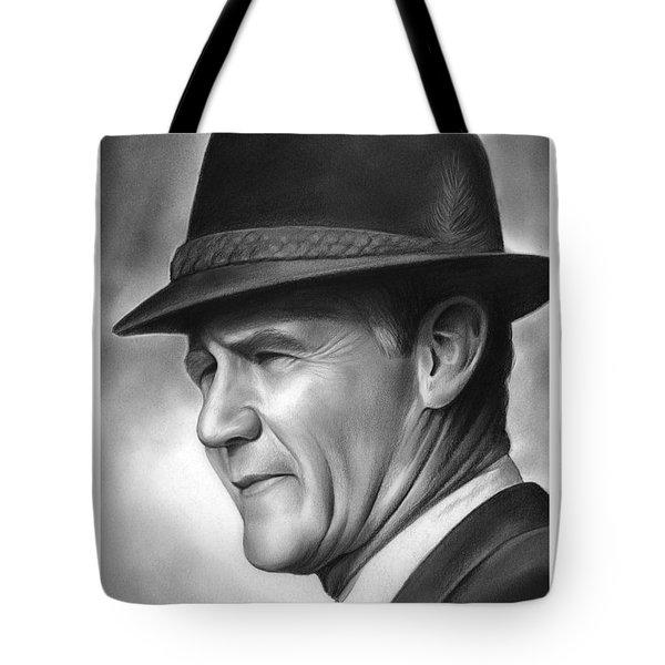 Coach Tom Landry Tote Bag by Greg Joens