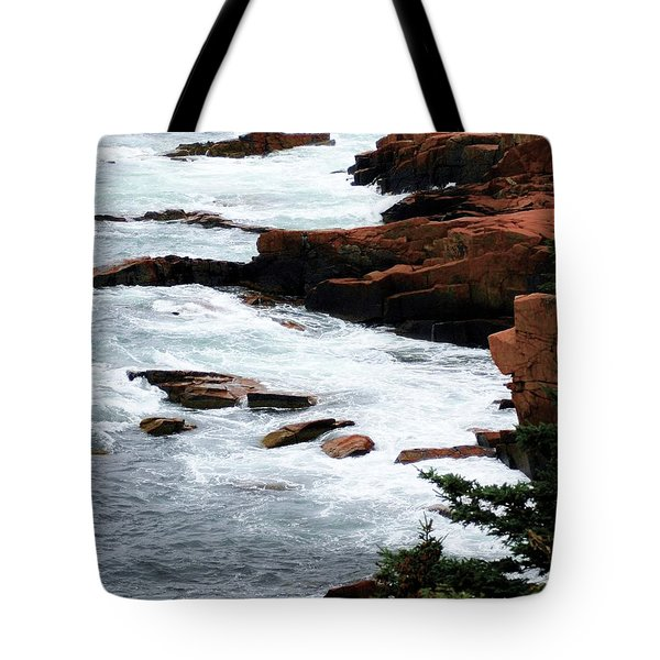 Coast Of Maine Tote Bag by Kathleen Struckle