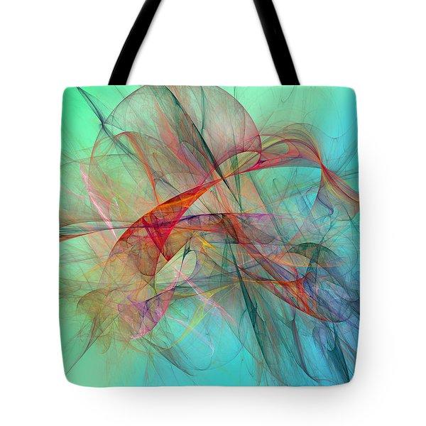 Coastal Kite Tote Bag by Betsy A  Cutler