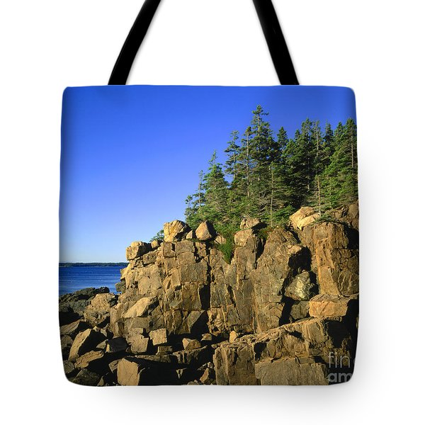 Coastal Maine Tote Bag by John Greim