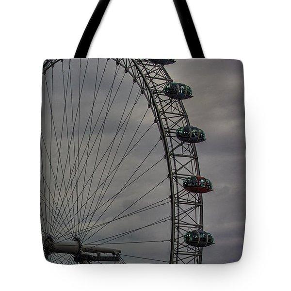 Coca Cola London Eye Tote Bag by Martin Newman