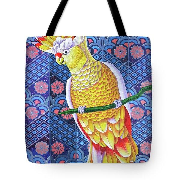 Cockatoo Tote Bag by Jane Tattersfield