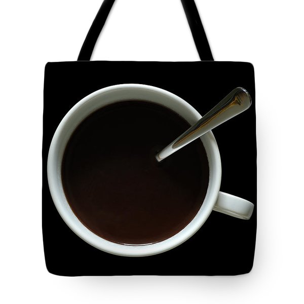 Coffee Cup Tote Bag by Frank Tschakert