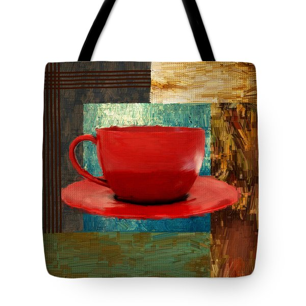 Coffee Lover Tote Bag by Lourry Legarde