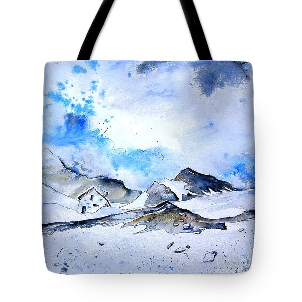 Col Du Pourtalet In The Pyrenees 01 Tote Bag by Miki De Goodaboom