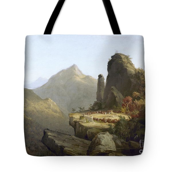 Cole: Last Of The Mohicans Tote Bag by Granger