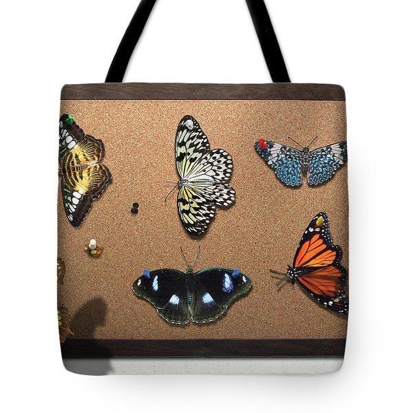 Collector - Lepidopterist - My Butterfly Collection Tote Bag by Mike Savad