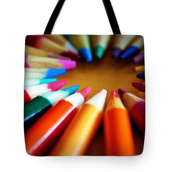 Color-ific Tote Bag by Cricket Hackmann