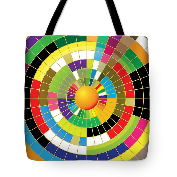 Color Wheel Tote Bag by Gary Grayson