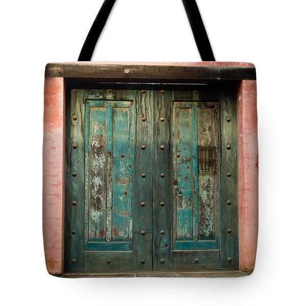 Colorful Doors Antigua Guatemala Tote Bag by Douglas Barnett