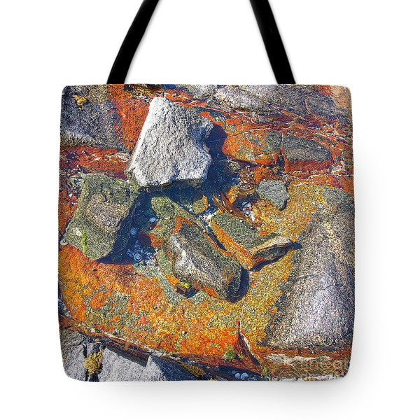 Colorful Earth History Tote Bag by Heiko Koehrer-Wagner