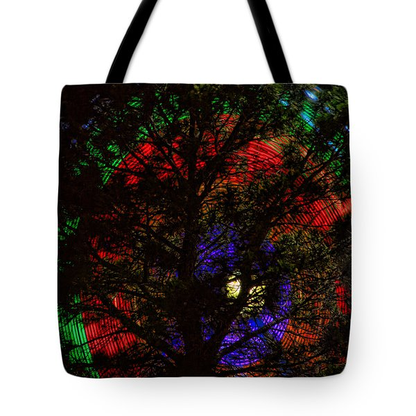 Colorful Tree Tote Bag by James BO  Insogna