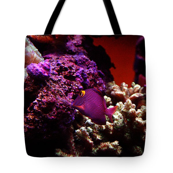 Colors of Underwater Life Tote Bag by Clayton Bruster