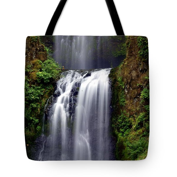 Columba River Gorge Falls 3 Tote Bag by Marty Koch