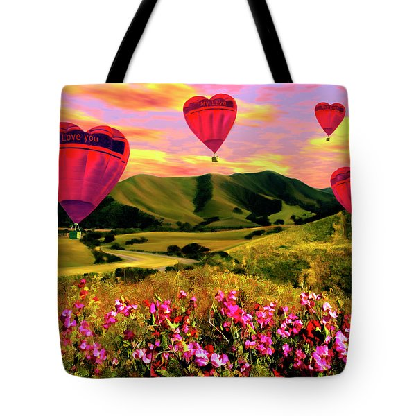 Come Fly With Me Tote Bag by Kurt Van Wagner