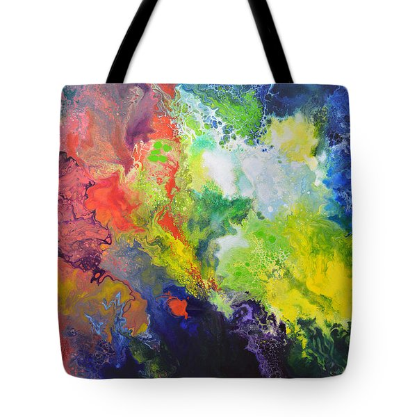 Comet Tote Bag by Sally Trace