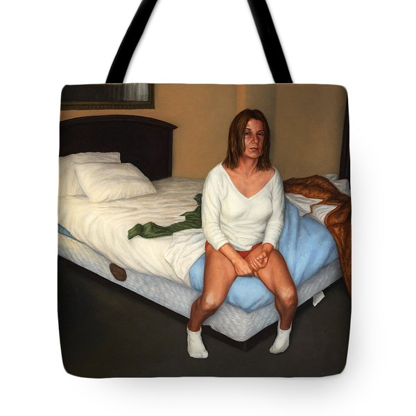Comfort Inn Tote Bag by James W Johnson