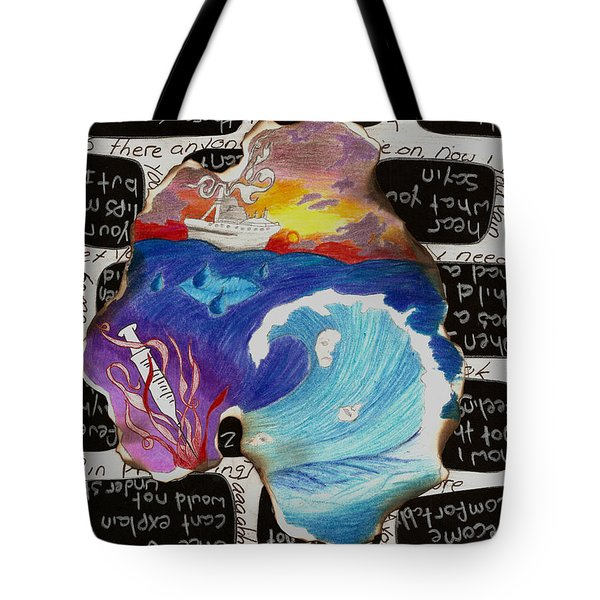 Comfortably Numb Tote Bag by Syvanah  Bennett