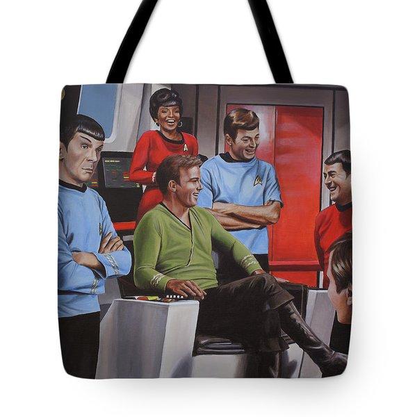 Comic Relief Tote Bag by Kim Lockman