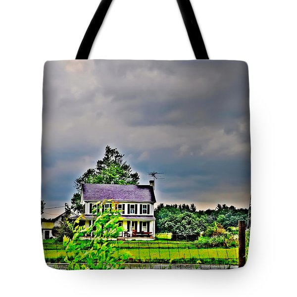 Coming Storm Tote Bag by Bill Cannon