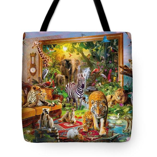 Coming To Room Tote Bag by Jan Patrik Krasny