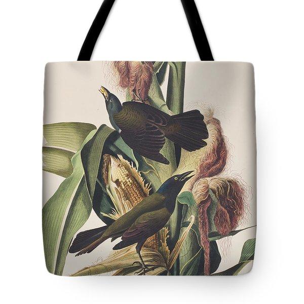Common Crow Tote Bag by John James Audubon