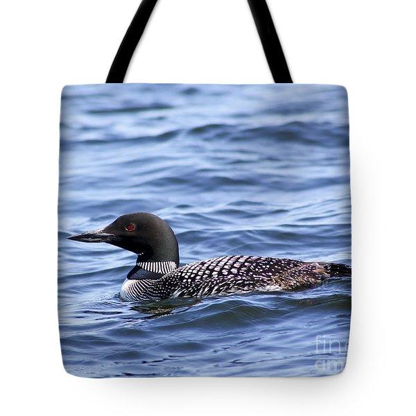Common Loon Tote Bag by Teresa Zieba