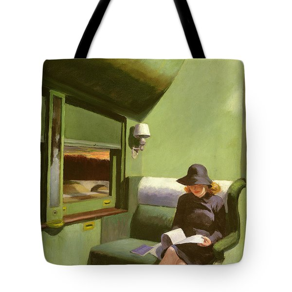 Compartment C Tote Bag by Edward Hopper