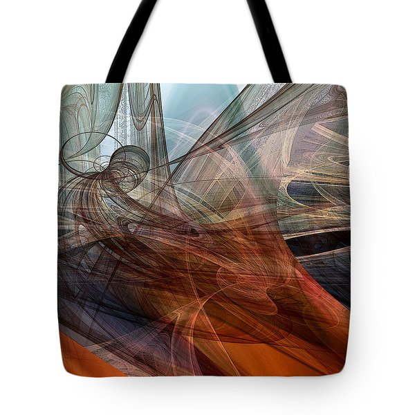 Complex Decisions Tote Bag by Ruth Palmer