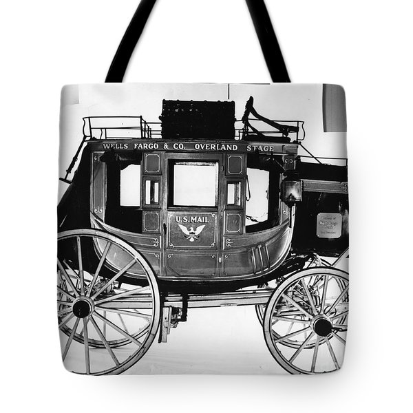 Concord Stagecoach Tote Bag by Photo Researchers, Inc.