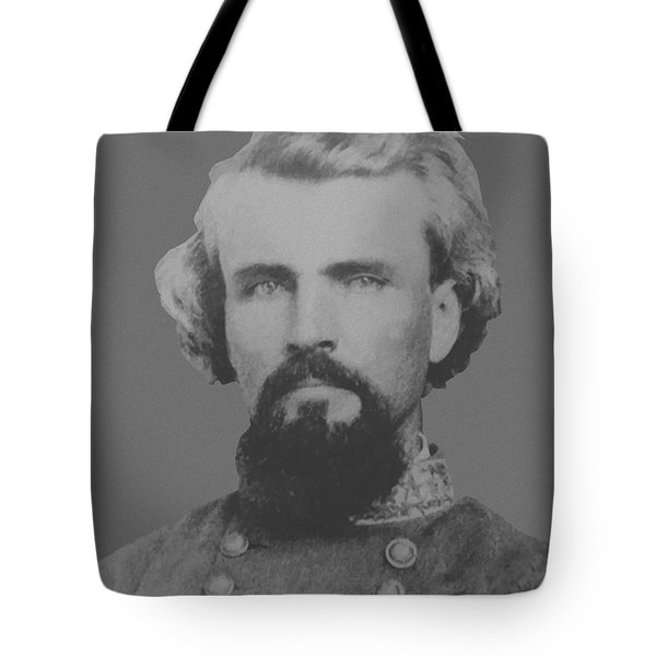 Confederate General Nathan Forrest Tote Bag by War Is Hell Store