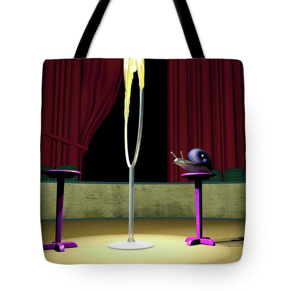 Confidence Tote Bag by Cynthia Decker