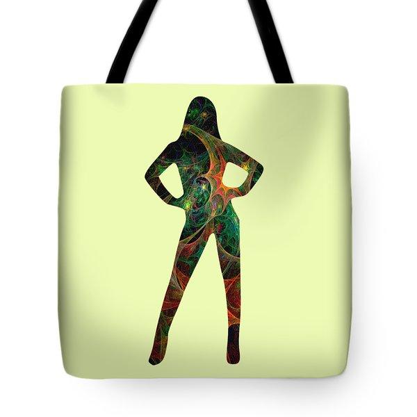 Confident Tote Bag by Anastasiya Malakhova