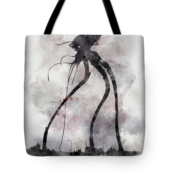 Conflict Tote Bag by Rebecca Jenkins
