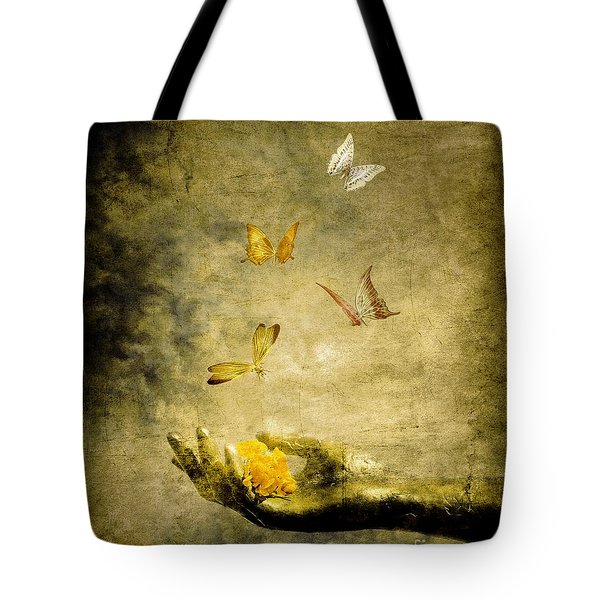 Connect Tote Bag by Photodream Art